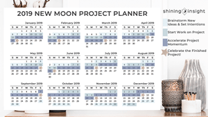 2019 New Moon Project Planner